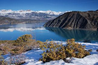 Lac de Serre-Ponçon (L.Terras)
