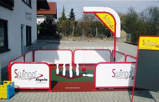 "Mobile Swingo®-Kegelbahn ""Maxi"""