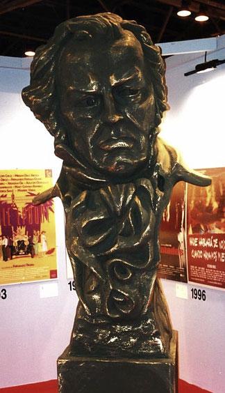 Estatuilla Gigante de los Premios Goya, 3 metros altura, Exposición Cultural