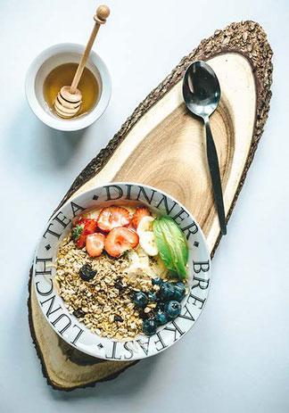 healthy complet gourmand peptit déjeuner