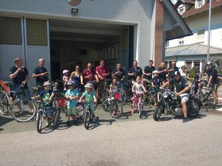 Festbesuch in Grafendorf 12.07.2015