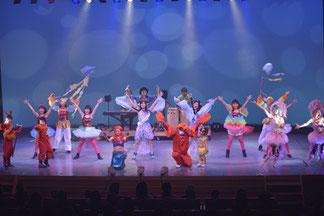 人魚姫と海の仲間のダンスと生演奏のコラボ!