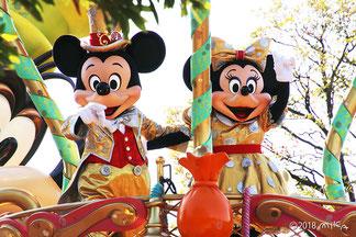 ディズニーの春のパレード