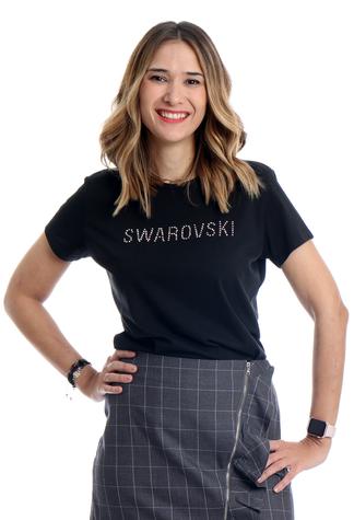 #mymonic.com #mymonic #Luxury #SwarovskiCrystals #Exclusive #Brand #Barcelona #MadeinBarcelona #camisetasconswarovski #ropa swarovski #logo #swarovski #camiseta swarovski #camisetas con mensaje