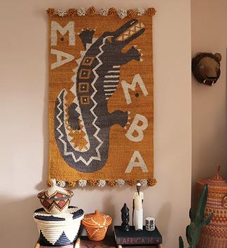 kilimmesoftly.ch, fairtrade, interior design, wall hanging, Kenya