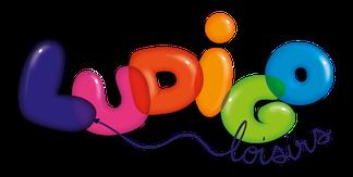 logo ludigo loisirs jeux pour enfants et anniversaire correze brive la gaillarde