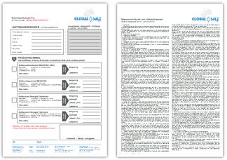 Vorschau Faxbestellformular