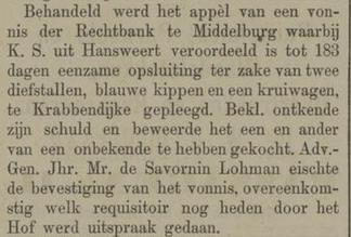 Haagsche courant 15-08-1885