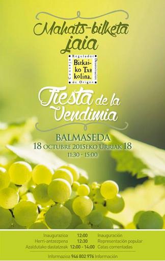 Fiesta de la Vendimia en Balmaseda 2015