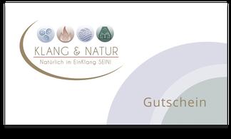 Gutscheine von Klang & Natur