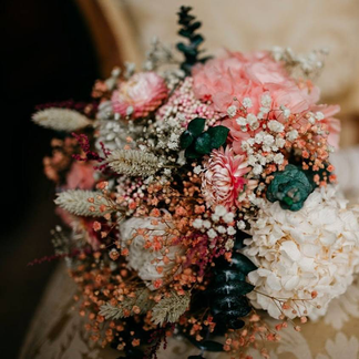 Ramos de novia de flores preservadas
