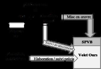 Schéma gouvernance comité de massif et élaboration SPVB