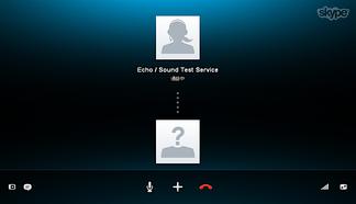 Skypeに通話テスト