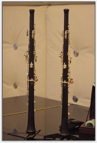 Neue Aufteilung der Oboe erst nach der D-Klappe
