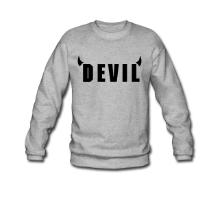 """DEVIL"" SWEATER FOR MEN 39€"