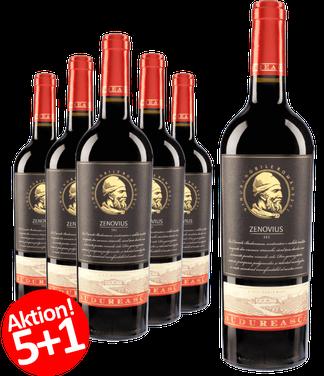 6-er Weinpaket Budureasca Premium Zenovius 2016
