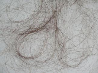 Ausgefallene Haare