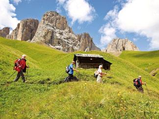 Una camminata ai piedi delle Dolomiti