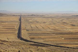 l'Altiplano, parfois c'est plat !!