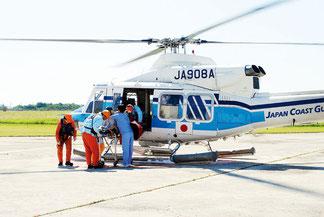 石垣空港に設置されている石垣島周辺離島の急患搬送を行っているヘリポート(資料写真)