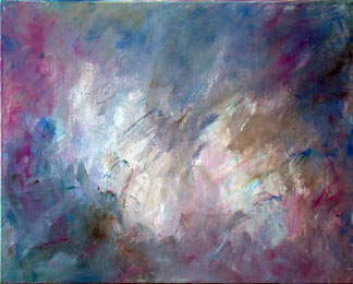 Имприматура, полученная размазыванием остатков краски