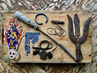 EXOTISCHE BEISPIELE – Fundstücke aus einer Klosterbegehung in Ladakh/Indien