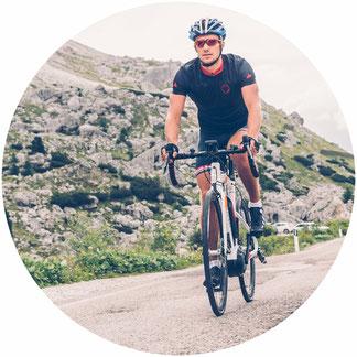 Race e-Bike Rennrad Ergonomie
