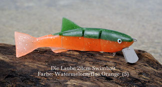 Swimbait made in Austria, ein Hechtköder der Extraklasse