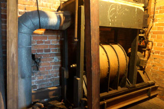 The 1927 organ pump has now been replaced.