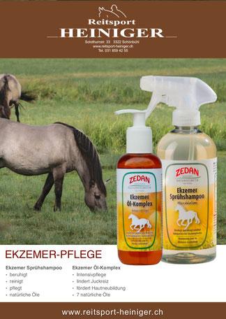 Reitsport Heiniger - Blogartikel Ekzemerpflege Zedan
