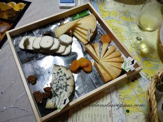 dégustation-oenologique-vins-de-Vouvray-et Touraine-et-fromages