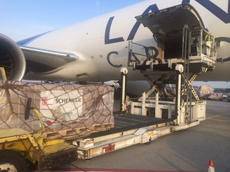 LAN Cargo operates Boeing Triple Seven Freighters on their European routes  /  company courtesy