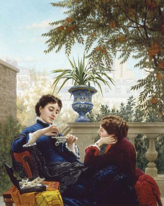 """""""Jeux Chinois"""" di Louis-Émile Pinel de Grandchamp"""
