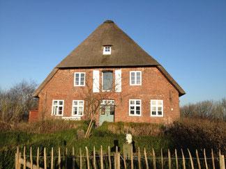 Müllerhaus auf dem Mühlendeich