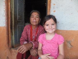 Nepal mit Kind