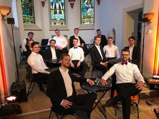 Die Knabenchor-Männerstimmen 2018 in der Kulturstätte Monta