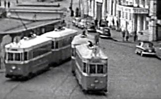 Tramway de Bordeaux - fin des années 50