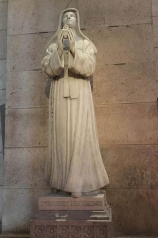 Sainte Marguerite Marie Alacoque à la Basilique du Sacré Cœur à Paris