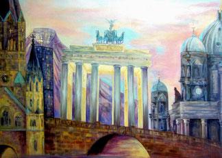 Berlin [Acryllasur auf Leinwand, 100x70cm]