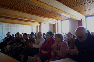 Les membres de TFBCO se sont déplacés en nombre pour assister à l'assemblée générale annuelle.