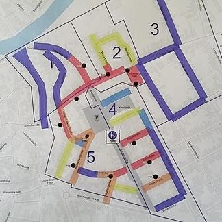 Übersichtskarte Ordnunungsamt Stadt Bernburg