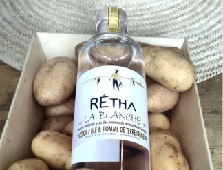 Retha La Blanche Wheat & Potato Vodka