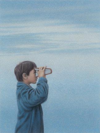 ꧁ Quint Buchholz, Boy with a Book, 2013 ꧂