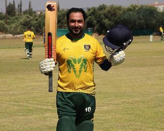Mehran Khan - Moufflons most consistent batsman 2018-2021