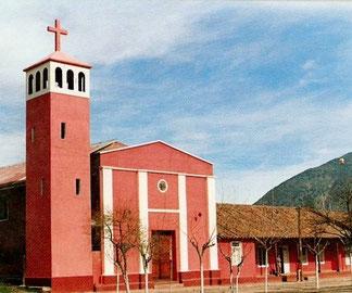 Parroquia Asunción de María destruida el 3 de Marzo de 1985 producto de un fuerte terremoto