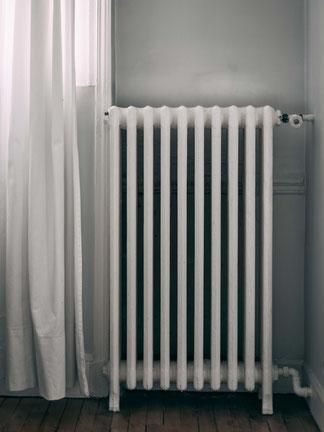 ドイツの主流の暖房器。©Unsplash/Jonathan Willis