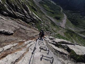 Leiter Klettersteig Höllental