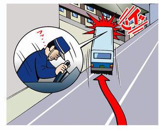 バスの健康起因事故