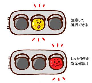 赤点滅信号の意味