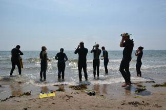 Workshops müssen nicht trocken sein - wie der Workshop Unterwasserwelt eindeutig beweist - einer von insgesamt über 20 Workshops im Pfingstlager